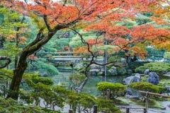 Chisen-kaiyushiki garden in Ginkaku-ji temple, Kyoto Stock Images