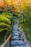 Chisen-kaiyushiki garden in Ginkaku-ji temple, Kyoto Royalty Free Stock Image