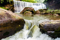 Chishui ha belle montagne, il bello paesaggio, la copertura forestale, che è nella provincia di Guizhou Fotografie Stock Libere da Diritti