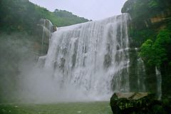 Free Chishui Waterfall Royalty Free Stock Image - 118009446