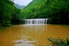 Chishui waterfall stock photography