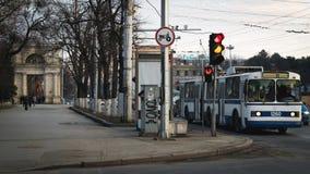 Chisinau, Δημοκρατία της Μολδαβίας Λεωφόρος Stefan ο μεγάλος, στις 2 Μαΐου Στοκ Εικόνες