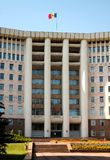 chisinau расквартировывает парламента moldova Стоковое Изображение