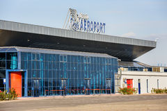 Chisinau Airport buildind, Moldova Royalty Free Stock Photography