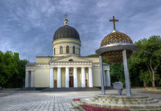 Chisinau Landmark - Nativity Cathedral Royalty Free Stock Photo