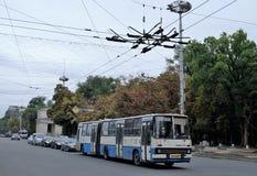 20 08 2016 - Chisinau, Moldavië - Stadscentrum Stock Afbeeldingen