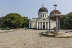 CHISINAU, MOLDOVA - 30 DE JULHO DE 2016: Parque da catedral o 30 de julho, 20 Foto de Stock Royalty Free