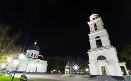Chisinau in night Royalty Free Stock Images