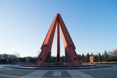 World War II Memorial Complex Eternity. Chisinau, Republic of Moldova Stock Photos