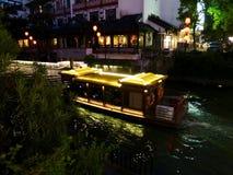 Chińska przyjemności łódź Obrazy Royalty Free