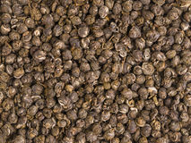 Chińska zielonej herbaty tekstura Zdjęcia Royalty Free