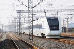 chiński szybki pociąg Zdjęcia Royalty Free