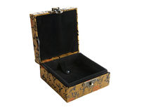 Chińskiego prezenta otwarty pudełko Fotografia Stock