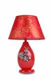 Chińskiego stylu ceramiczna stołowa lampa Zdjęcia Royalty Free