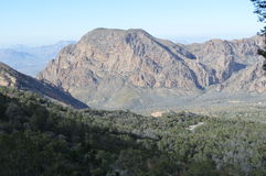 Chisos Basin in Big Bend National Park Stock Images