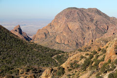 Chisos Mountains Landscape Stock Images