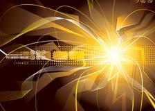 Chispas de la energía Imagen de archivo libre de regalías