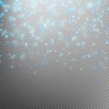 Chispas del polvo de estrella EPS 10 Imágenes de archivo libres de regalías