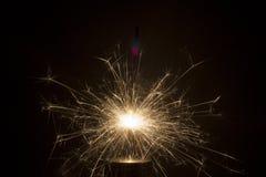 Chispas eléctricas Fotografía de archivo libre de regalías