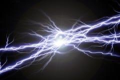 Chispas eléctricas Foto de archivo libre de regalías