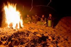 Chispas en la arena Foto de archivo libre de regalías