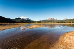 Chispas lago, Oregon Fotografía de archivo libre de regalías