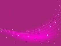 Chispas rosadas del extracto Fotografía de archivo libre de regalías