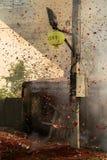 Chisporroteo explosivo del fusible Imagen de archivo