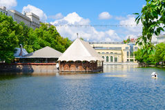Chistiye Prudy, Moscow, Russia Stock Photo