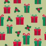 在白色背景的五颜六色的梅里Chistmas出现日历 逗人喜爱的圣诞节、冬天和新年25标志和象与数字 皇族释放例证