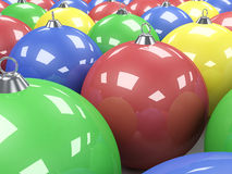 Chistmas Balls Royalty Free Stock Photo