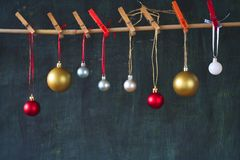 Chistmas balls Royalty Free Stock Photography