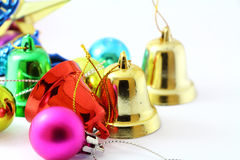 Chistmas closeup bell Royalty Free Stock Photo