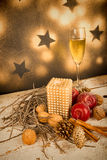 Chistmas decoration still life Stock Photo