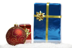 Chistmas gift Stock Photography