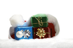 Chistmas gifts Royalty Free Stock Photo