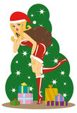 Chistmas heureux ! ! ! illustration stock