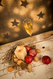 Chistmas ornate still life Royalty Free Stock Photography