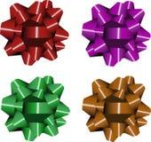 Chistmas ribbons Stock Photo