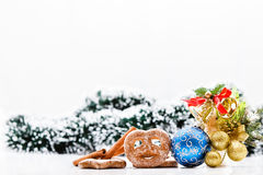 Chistmas theme. Royalty Free Stock Images