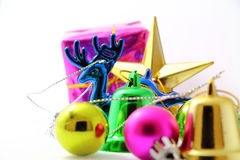 Chistmas toy color Stock Image