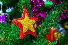 Chistmas tree close up Royalty Free Stock Images