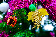 Chistmas tree close up Royalty Free Stock Image