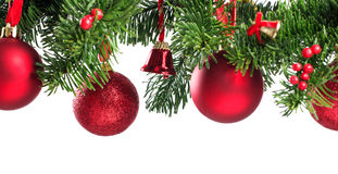 Chistmas tree decoration Royalty Free Stock Images