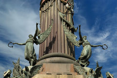 Chistopher Columbus monument in Barcelona Royalty Free Stock Photos