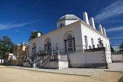 Chiswick House is a Palladian villa in Burlington Lane, Chiswick, in the London Borough of Hounslow in England. Chiswick House is among the most glorious Stock Photos