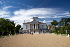 Chiswick House is a Palladian villa in Burlington Lane, Chiswick, in the London Borough of Hounslow in England. Chiswick House is among the most glorious Stock Photography
