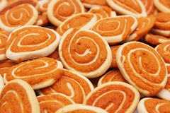Chit So Pan Biscuit. A pile of chit so pan biscuit as food background stock images