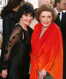 Chita Rivera and Patricia Neal Royalty Free Stock Photo