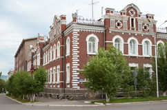 Chita, RU - July 20 2014: Commercial apartment of Bergut family, was built in 1907 Stock Photo